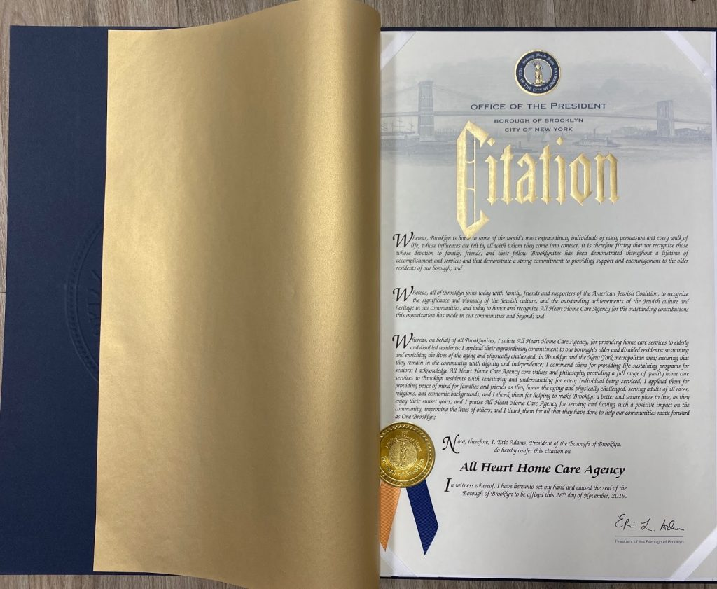 citation award